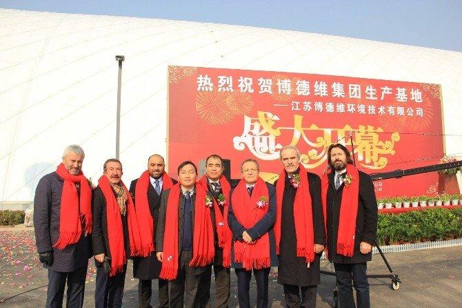 Başkan Uğur'dan Çin Temasları