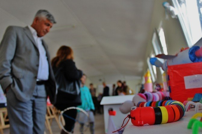 Bodrum'da 'Kendi Oyuncağını Kendin Yap' Projesi