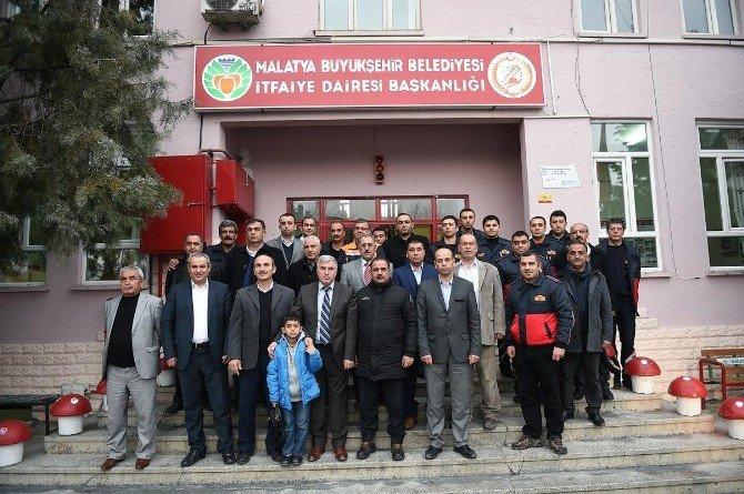 Bölge İtfaiye Çalıştayı Malatya'da Yapıldı