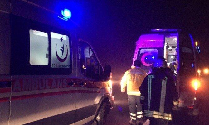 Tavşanlı'da Trafik Kazası: 2 Yaralı