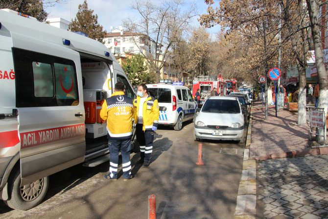 Çankırı'da yangın: 3 kişi hastaneye kaldırıldı