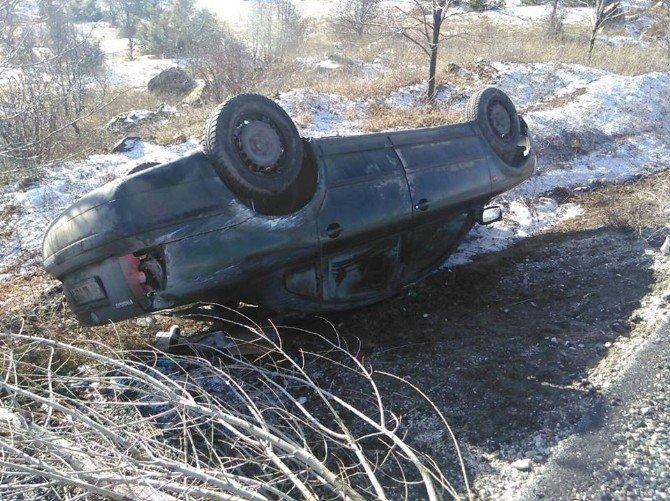 Çankırı'da Trafik Kazası: 1'i Çocuk 6 Yaralı