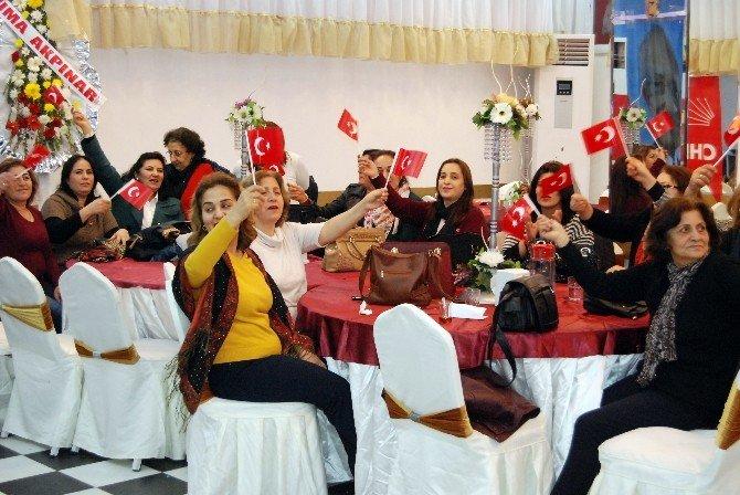 CHP Kahramanmaraş Kadın Kolları'nda Yeni Başkan Füsun Zabun Oldu