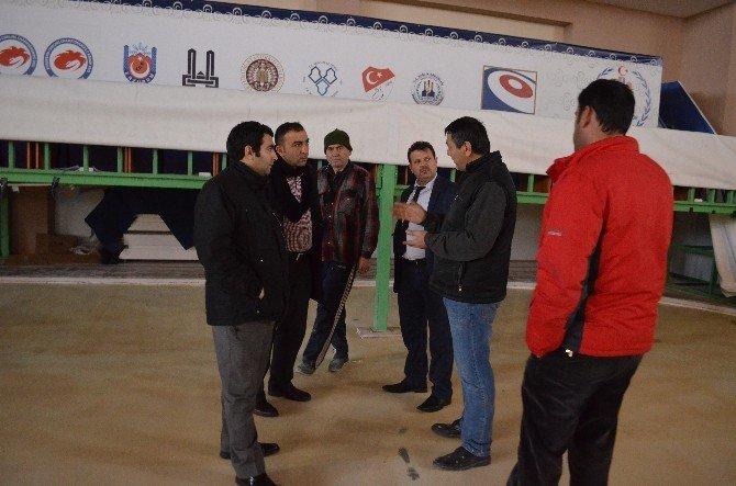 Curling Arena Dev Organizasyona Hazırlanıyor