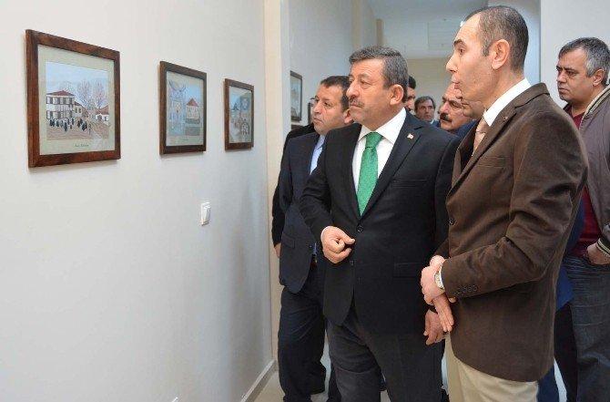 Darıca'da Mevlevihaneler Sergisi Açıldı