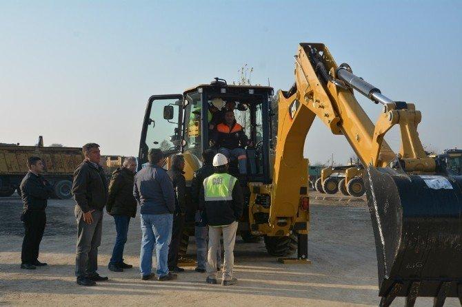 Efeler Belediyesi İş Makinesi Operatörleri Eğitimden Geçti