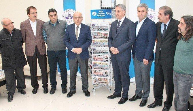 Elazığ'da 'Yerel Gazetemizi Okuyorum' Projesi