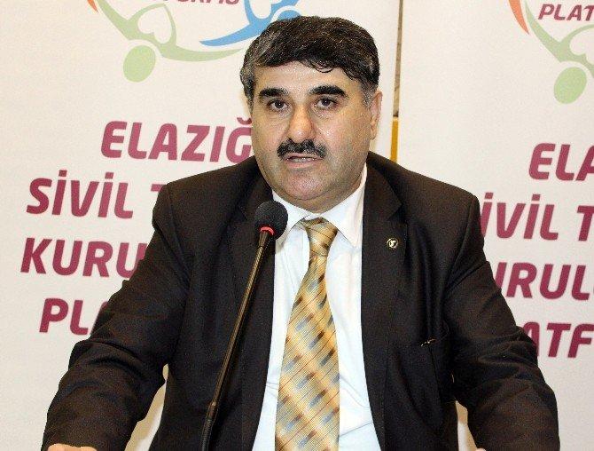 Elazığ'da STK'lardan Akademisyenlerin Bildirisine Tepki