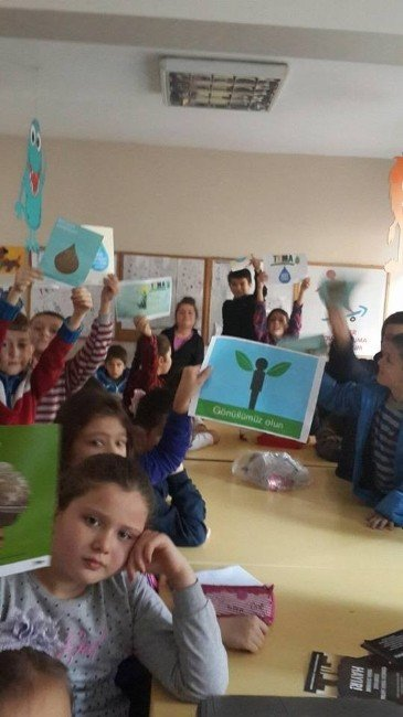 TEMA'dan TEGV Çocuklarına Tasarruf Semineri