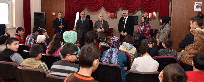 Başkan Sekmen, Engelli Öğrencilerle Buluştu