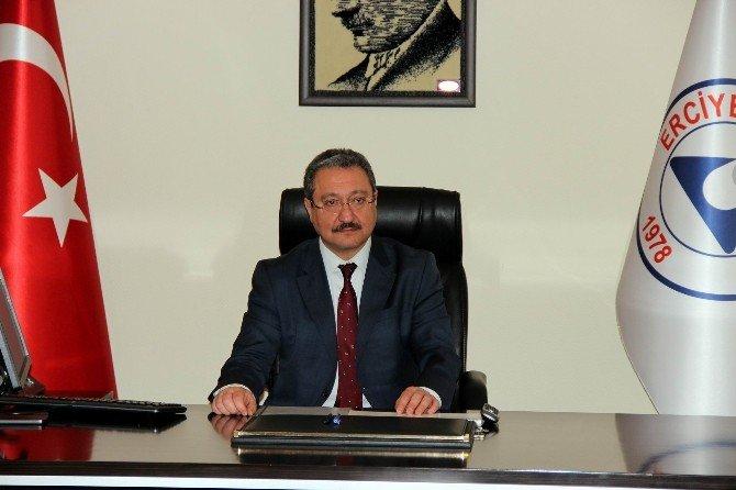 ERÜ Rektörü Prof. Dr. Muhammet Güven Görevi Teslim Aldı