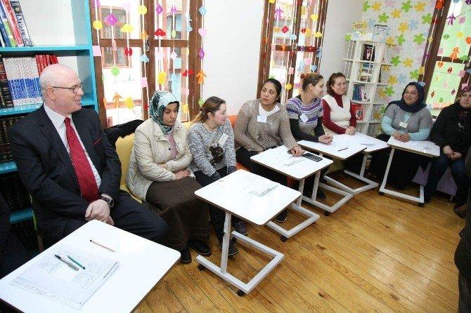 Odunpazarı'ndan Anne Ve Babaları Bilgilendiler Eğitimleri