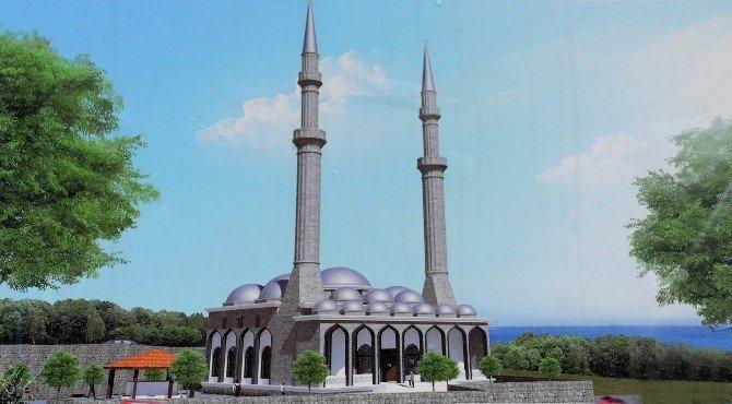 Çamlıtepe Camii'nin Temeli Atıldı