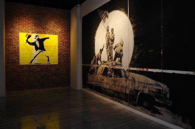 """""""The Art Of Banksy"""" Dünya Prömiyeri İstanbul'da Gerçekleşti"""