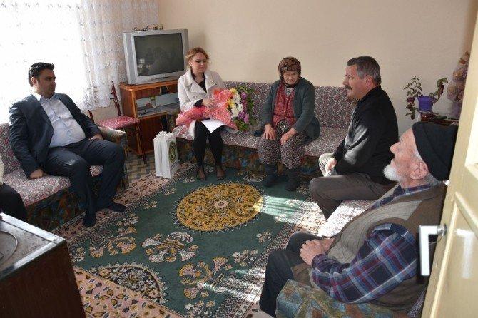 Malkara Belediye Başkanından Görme Engellilere Anlamlı Ziyaret
