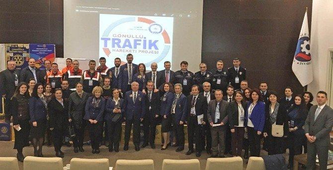 Rotary Federasyonu'ndan Çanakkale'de Trafik Çalıştayı