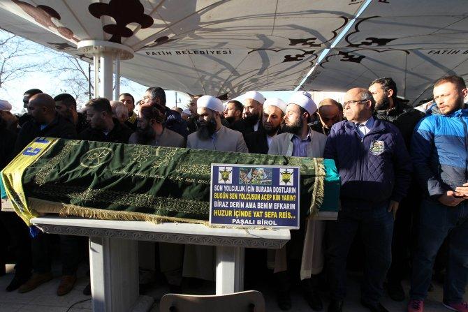 Fenerbahçeli Sefa'yı Galatasaraylılar da uğurladı