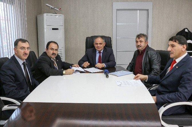 Yahyalı Belediyesi'nde Sosyal Denge Sözleşmesi Yenilendi