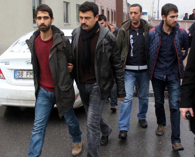 PKK gençlik yapılanmasına yönelik operasyon: 2'si bayan 7 gözaltı