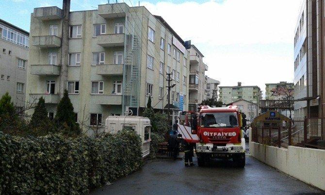 Rehabilitasyon Merkezinde Çıkan Yangın Paniğe Neden Oldu