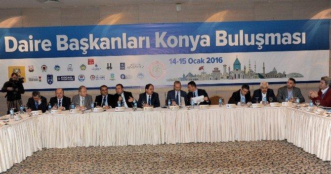 13 Büyükşehir'in Daire Başkanları Konya'da