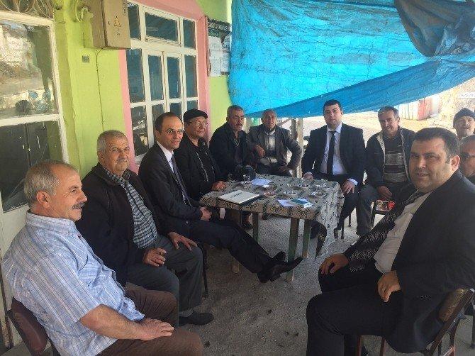 Turgutlu'da Muhtarlar Hizmetlerden Memnun