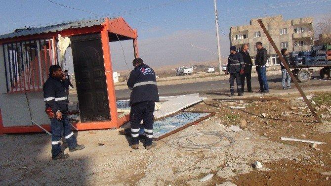 Mardin'de Teröristlerden Bombalı Saldırı: 1 Ölü