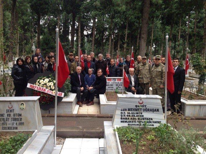 Şehit Jandarma Pilot Yüzbaşı Kabri Başında Anıldı