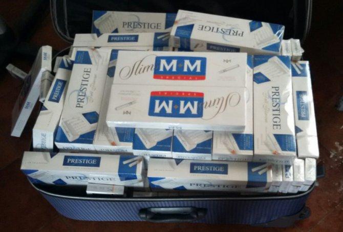 Muş'ta 6 bin 240 paket kaçak sigara ele geçirildi