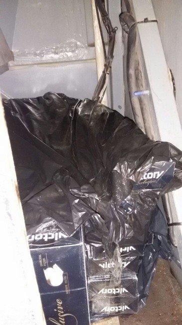 Muş'ta 6 Bin 240 Paket Gümrük Kaçağı Sigara Ele Geçirildi