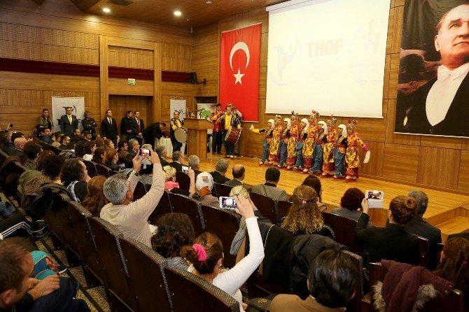 Türk Halk Oyunları Şehitkamil'de Konuşuldu