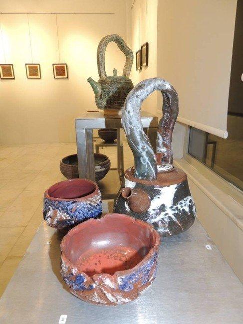 Simit Çay İkramıyla Çaydanlık Sergisi