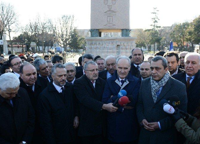 İTO, Sultanahmet'te Hayatını Kaybedenleri Andı