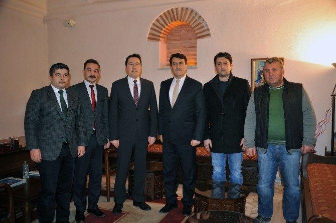 Jeoloji Mühendislerinden Başkan Dündar'a Ziyaret