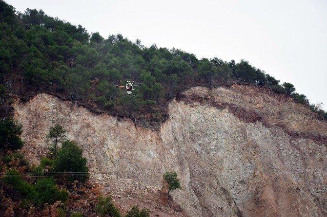 Kayıp İki Çocuk Drone İle Arandı