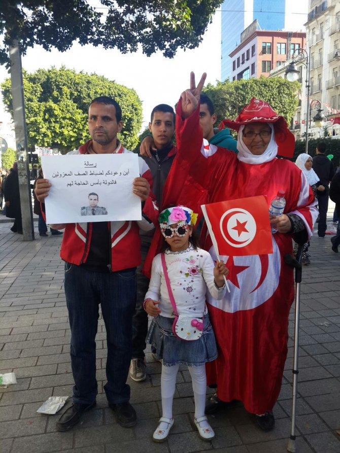 Tunus'ta 'Yasemin Devrimi'nin yıldönümü kutlanıyor