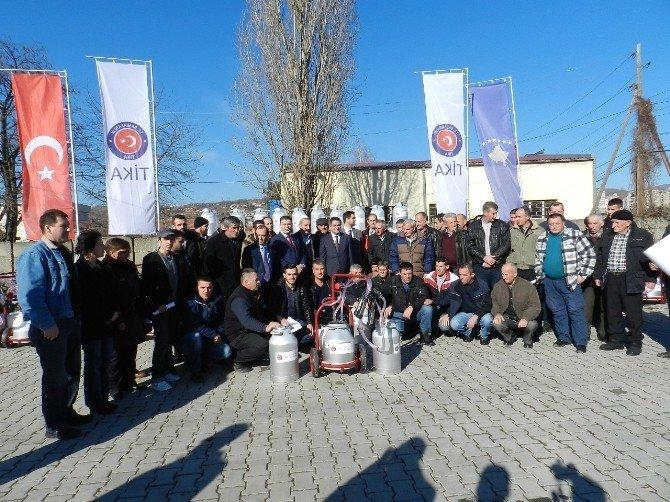 TİKA'dan Kosovalı Süt Üreticilerine Büyük Destek