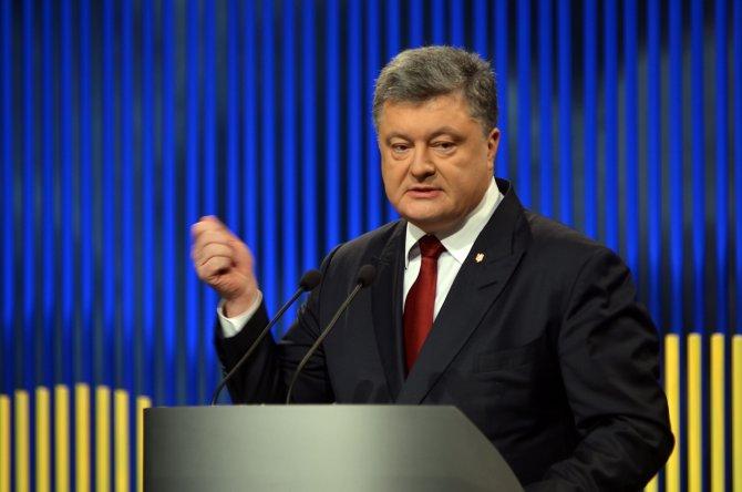 Poroşenko 2016'nın ilk basın toplantısını yaptı
