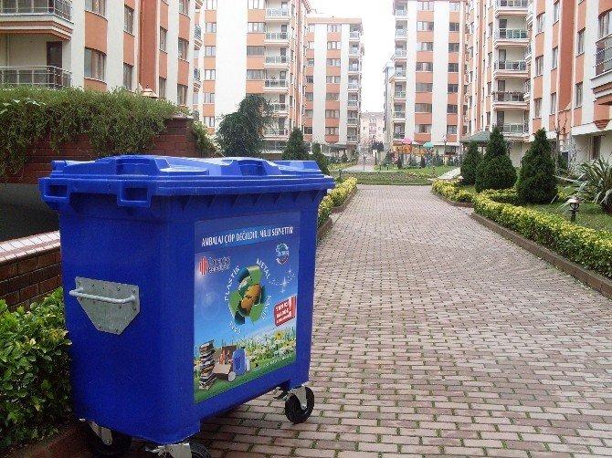 Ümraniye Belediyesi Geri Dönüşüm Çalışmalarını Sürdürüyor