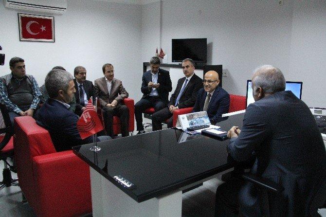 Vali Zorluoğlu'ndan BİK'e Ziyaret