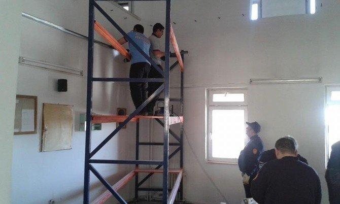 Gölbaşı İtfaiye İstasyonu Yeni Yüzüne Kavuştu