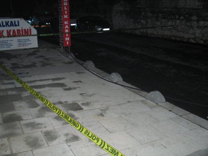 Yüksek gerilim hattı koptu, mahalle karanlığa gömüldü