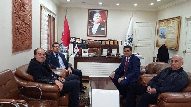 Başbakan Yardımcısı Yalçın Akdoğan'ın Danışmanından Pazaryeri Belediyesine Ziyaret