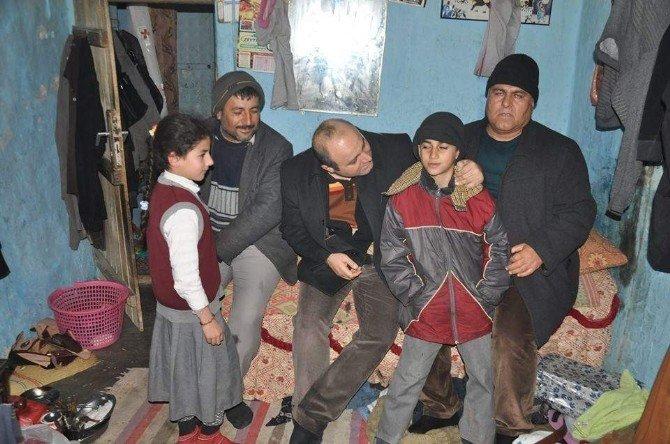 Kaymakam Çağlayan Kaya'dan, Fakir Ailelere Ziyaret