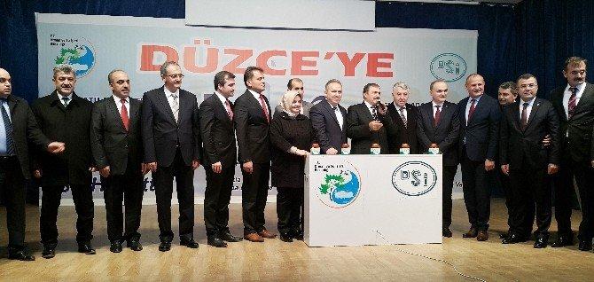 Bakan Eroğlu, Düzce'ye Müjdelerle Geldi