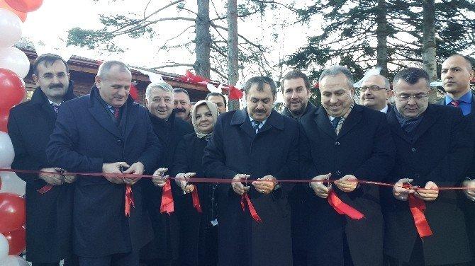 Bakan Eroğlu Düzce'de Tesis Açılışı Yaptı