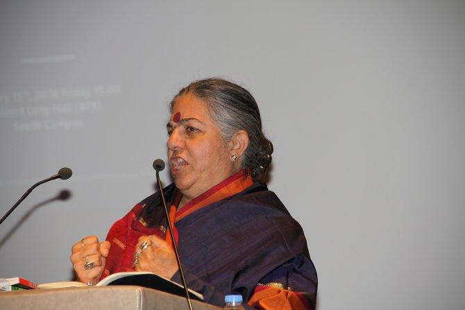 Ünlü aktivist Shiva: Çiftçilerin kendi tohumlarını üretmesini bile engelliyorlar