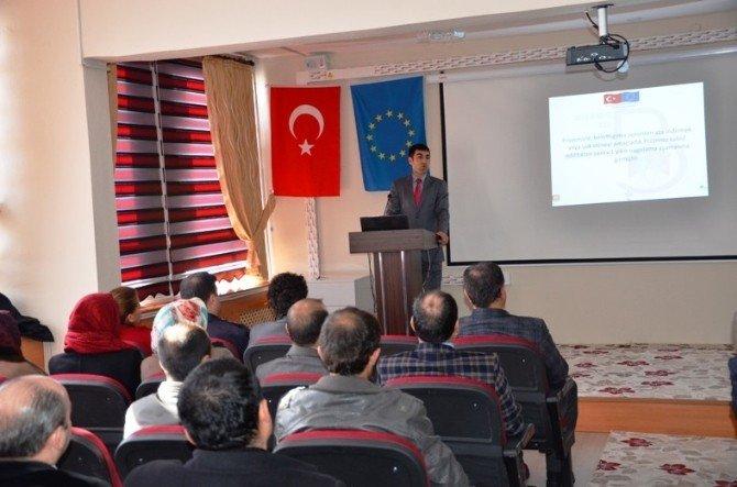 Bulanık'ta Proje Tanıtım Toplantısı