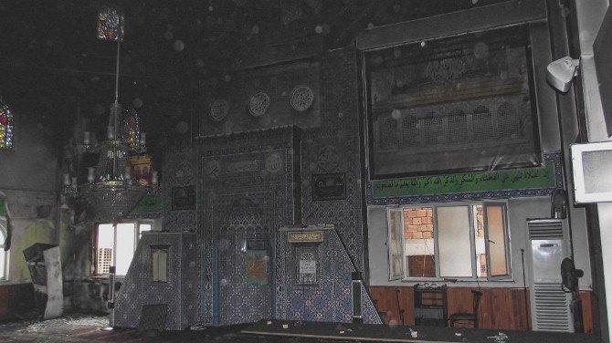 Camide Yangın Çıktı Faciadan Dönüldü