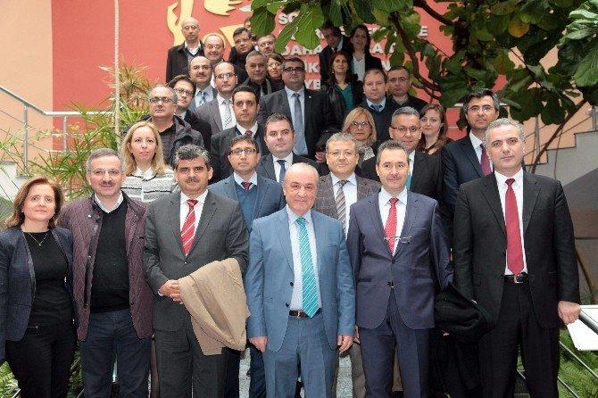 Celal Bayar Üniversitesi Akademisyen Heyeti Gaziantep Üniversitesinde İncelemelerde Bulundu